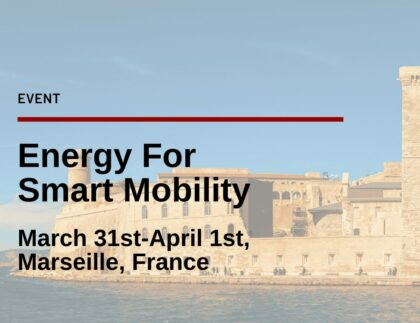 Energy for Smart Mobility