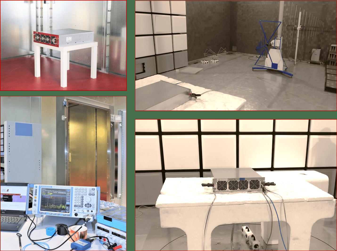 EMC lab equipment