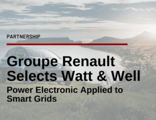 Groupe Renault teams up with Watt & Well