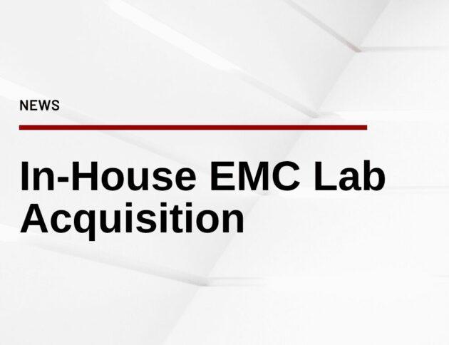 Watt & Well acquires an EMC Lab