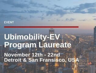 Ubimobility-EV Program Laureate 2019